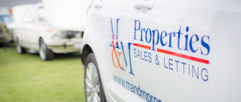 M&M Properties at Flitwick Car & Bike Show