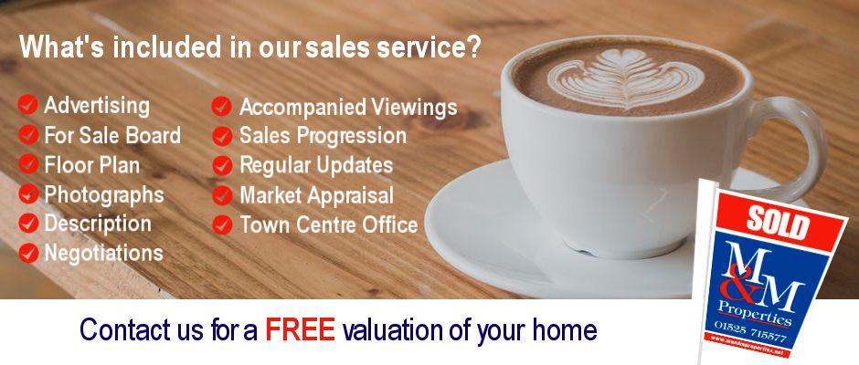 What's included in our sales service?